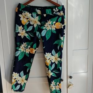 Floral tropical pants Old Navy Pixie